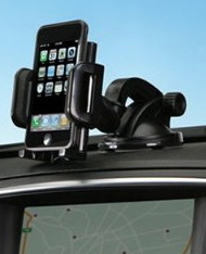 iPhone car mount for the dash