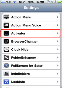 Assign a flash light app to an iPhne button for quick access of the light