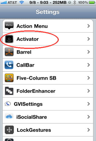 Activator is One of the Best Cydia iPhone Hacks   Control your