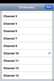 airtv for iphone channel list