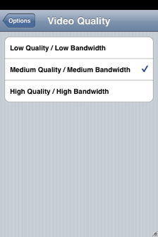 airtv for iphone video quality setting