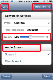 air video quality ipHone video