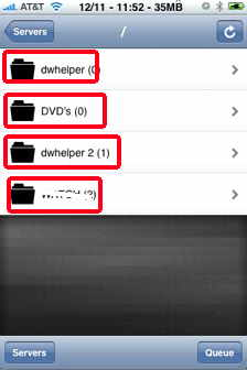 air video iPhone video  directories