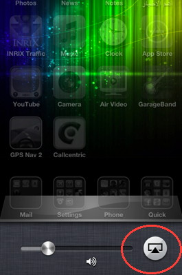 AirPlay Mirror is an iOS 5 feature for iPhone 4S