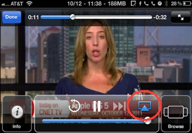 Airplay on iPhone  only stream audio with some iPhone applications
