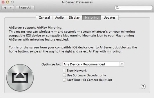 Mirror your iPhone to your iMac using AirServer