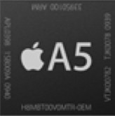 iPhone 4S A5 is a dual core processor   designed by Apple