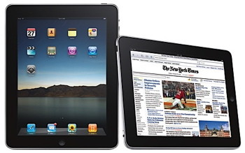 The sleek Apple design of the iPad, and the simplicity of its use is the driving factor for its sale