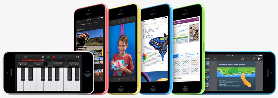Colored iPhone 5c