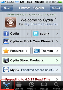 Create iPhone ringtone with jailbreaking using cydia