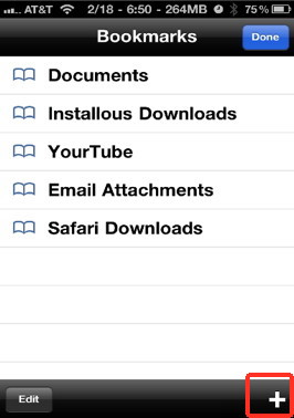 Favorites allows you to access your favorites directories anytime with ease on your iPhone file system