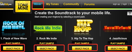 Make free iphone ringtones using the web for your iPhone