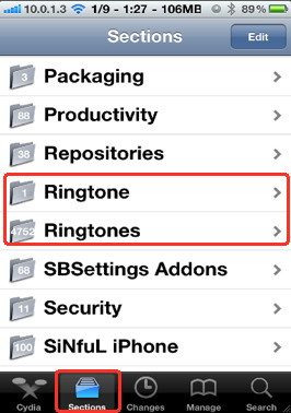free ringtones from cydia