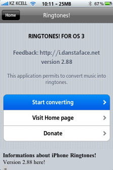 Use Cydia on a Jailbrocken iPhone to create free ringtones