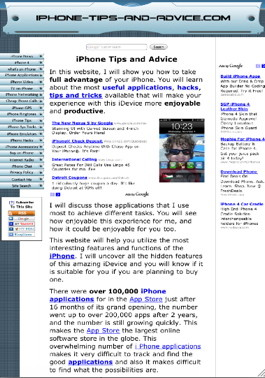 Full screen hack for iPhone safari