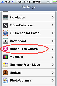 Hands Free Control  is another Siri hack that puts  Siri  in listening mode all the time