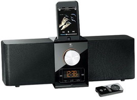 iPhone speakerphone with docking station