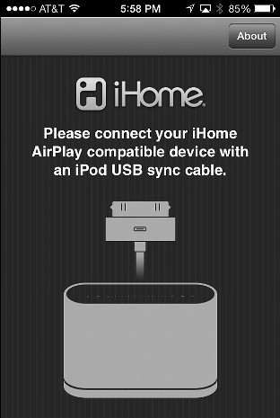 iHome airplay connect