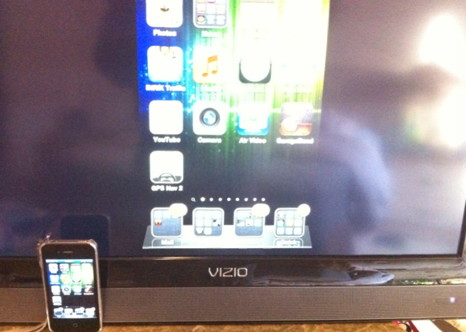 iPhone 4S airplay mirror on TV
