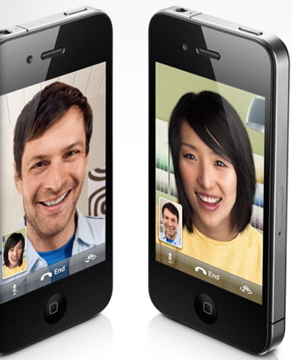 FaceTime to video call on iPhone 4