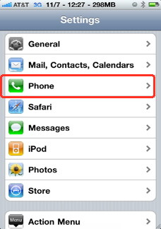 How to enable facetime on iPhone 4
