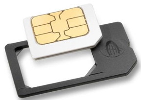 iPhone 4 features, convert micro sim card to SIM card