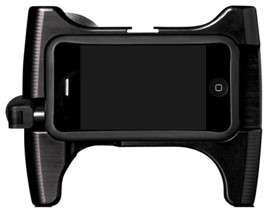 iPhone camera holder with wide angle  lens and microphone