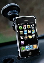 iPhone car mount for windshield