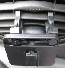 iPhone car mounts to the car vent
