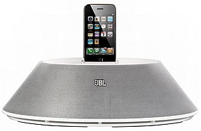 iPhone dock and speaker