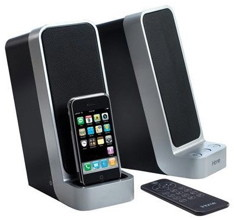 iPhone dock and iPhone speaker with rremote