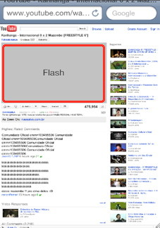 iPhone flash for safari mobile