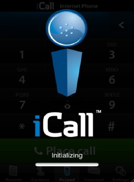 iCall allows you to make iPhone free calls over the internet