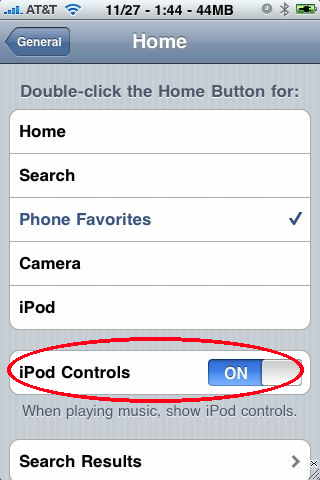 iphone ipod control trick