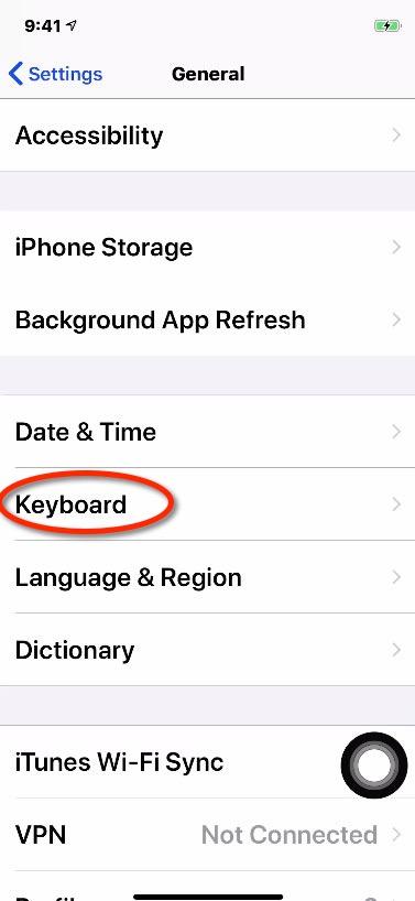 languages on iphone change iphone keyboard language. Black Bedroom Furniture Sets. Home Design Ideas