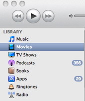 iPhone video format sync with iTunes