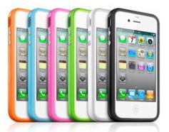 iPhone 4 bumpers by Apple