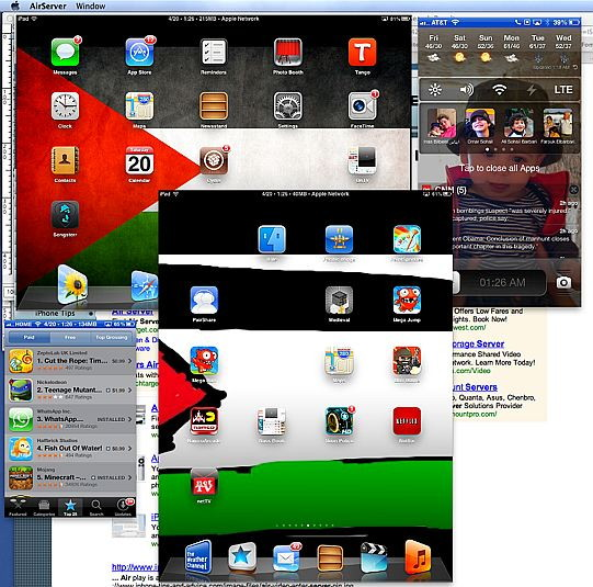 Mirror as many iOS devices on your iMac with AirServer