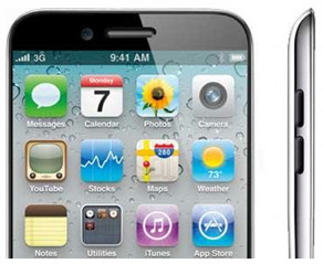 iPhone 5 to be announced in Tuesday October 4th, thinner and lighter with bigger screen  iPhone 5 Picture