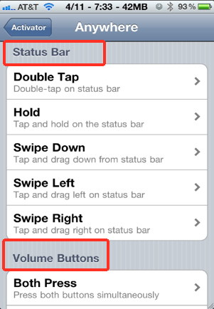 Control your iPhone completely with gestures and touch