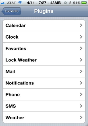 Customize iPhone with Lock Info