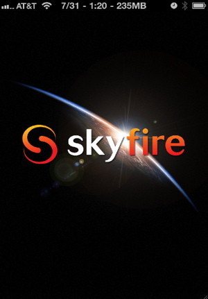 Skyfire for iPhone can play almost and iPhone flash video