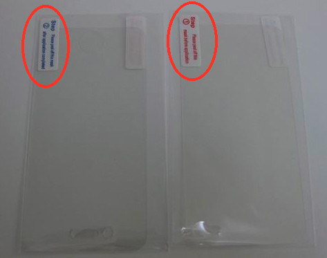 iphone screen protectors with 2 steps install