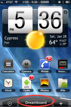 iPhone themes that make your iPhone look like android