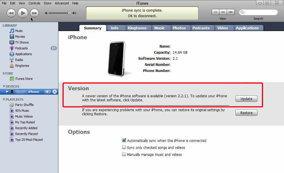 apple iphone softwares