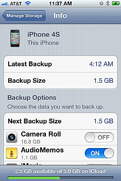 how to pay for icloud storage on iphone