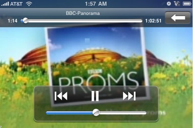 internet tv live on orblive iPhone video stream in real time