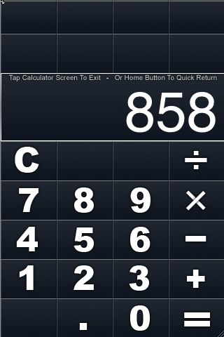 quick calculator
