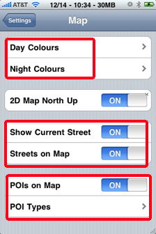 how to find gps on iphone settings