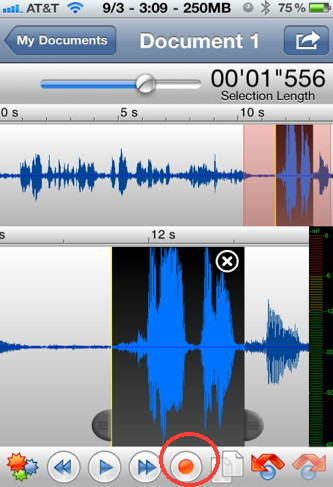 Twisted Wave is an iPhone audio recorder